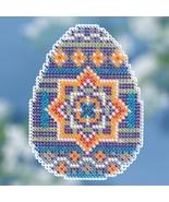 Medallion Egg Spring Series 2018 seasonal ornament kit cross stitch Mill... - $7.20