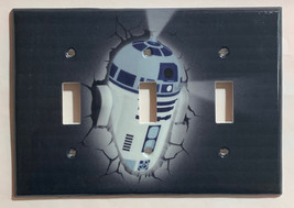 Star Wars R2D2 R2-D2 Light Switch Power Outlet Wall Cover Plate Home Decor image 6