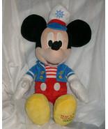 "20"" SAILOR MICKEY MOUSE DISNEY MACY'S HOLIDAY 2009 STUFFED ANIMAL PLUSH ... - $23.38"