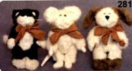 "Boyds Bears ""Tom, Dick and Harry"" #99534V- 6"" Plush Set-QVC Exclusive- RARE-1997 - $69.99"
