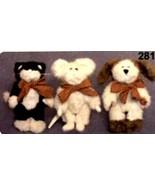 "Boyds Bears ""Tom, Dick and Harry"" #99534V- 6"" Plush Set-QVC Exclusive- R... - $69.99"
