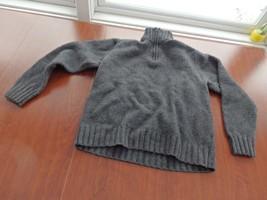 Men-GAP -Pullover--Sweater-Black Gray Size-S/P - $13.62