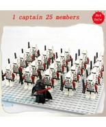 26Pcs Darth Vader And ARF Clone Trooper Army Star Wars Clone Wars Minifi... - $35.99