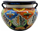 90301 ceramic talavera mexican hand painted planters 1 size1 thumb155 crop