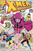 X-Men Adventures TV Series Comic Book Season I #2 Marvel 1992 VERY FINE ... - $2.25
