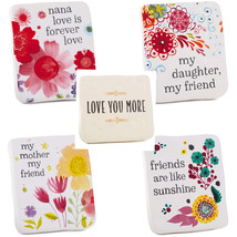 Ceramic Quote Block with Easel Back, Plaques & Signs Family Gift Ideas - €10,00 EUR