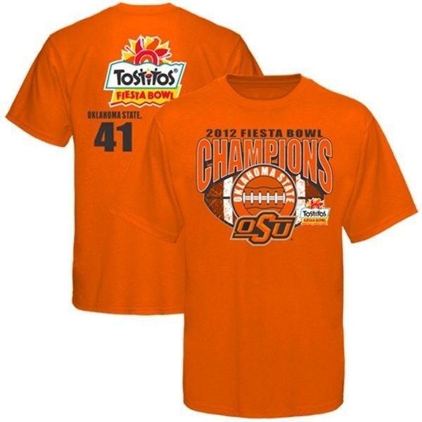 Oklahoma State Cowboys 2012 Fiesta Bowl Champions t-shirt new Pokes OSU Football - $18.55