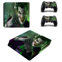 Joker Vinyl Decal Warp Skin PS4 Slim Sticker for Playstation 4 PS4 Slim Skins - $19.90
