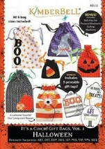Kimberbell KD532 It's a Cinch! Gift Bags Vol 1 Halloween - $29.66