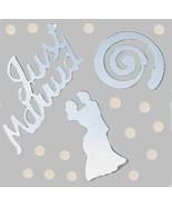 Confetti MultiShape Tie the Knot Silver Mix - $1.81 per 1/2 oz. FREE SHIP - $3.95+