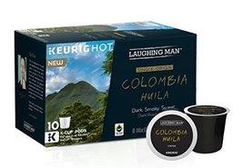 Laughing Man Keurig K- Cups 2 Boxes of 10 (Columbia Huila) - $28.41