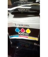Lexmark No.100Xl Combo Pack Ink Cartridge - Cyan/Magenta/Yellow - $28.00