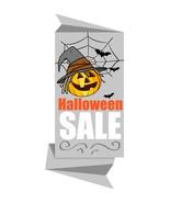 Halloween Pumpkin Paper Banner-Digital clipart.  - $4.00