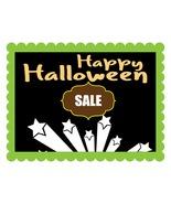 Happy Halloween Sale Banner -Digital clipart.  - $4.00