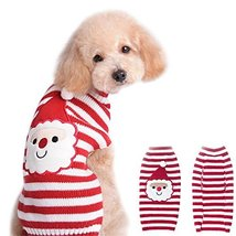 NACOCO Santa Claus Pet Sweater Dog Sweaters Cold Weather Outfit for Smal... - $9.89