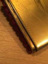 40s KLIX gold squeeze-open makeup compact image 4