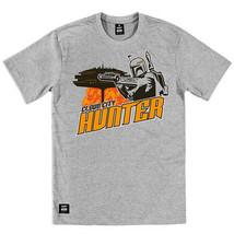 Addict Star Wars Boba Fett Wolkenstadt Grau Crew Neck Tee T-Shirt - $50.36