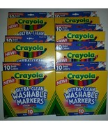 7 x 10 Crayola Ultra Clean Washable Markers 70 Broad Line Bold Color Max - $24.75