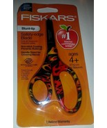 "1 Fiskars 5"" Kids Scissors Blunt Tip Decorated ... - $4.94"