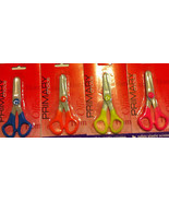 "Plastic Safety Scissors 5"" Kiddie Wholesale Lot... - $14.85"