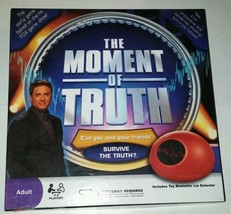The Moment Of Truth Adult Board Game Great Used Condition Biometric Lie Detector - $9.89