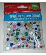 125pc GOOGLY EYES Assortment of COLORS & SIZES ... - $3.95