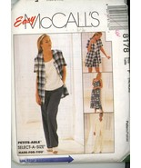 McCall's 8178 Misses Dress or Top, Jacket, Pants or Shorts Size 16, 18 2... - $2.00