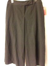 A/LINE BLACK CROPPED PANTS CAPRIS - NEW/NWT - WOMEN'S SIZE 6 - NICE - $18.68