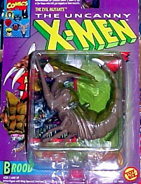 Primary image for The Uncanny X-Men Brood Attack Action Evil Mutants Figure