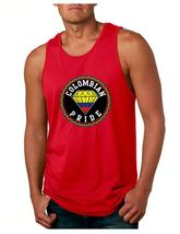 Colombian Pride Men's Jersey Tank Top Country Pride Shirt - €14,60 EUR