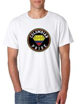Colombian Pride Men's Tee Shirt Country Pride Shirt - $17.00