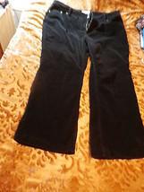 Black Corduroy Stretch  Pants  Size 26 W - $26.00
