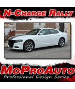 2015 Dodge Charger Full Rally / Racing Stripes Decals Graphics 3M Pro Vi... - $229.99