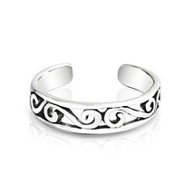 14K White Gold Finishing 925 Pure Silver Beautiful Fashion Adjustable To... - $9.99