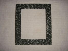Dark Green White Speckles Wooden Frame For Cross Stitch~Craft Frame - $15.99
