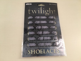 TWILIGHT TEAM EDWARD SHOELACES RARE!!!!!!! HTF!!!!!!!!NECA!!!!BRAND NEW - $34.64