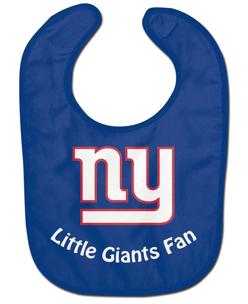 NEW YORK GIANTS ALL PRO BABY BIB VELCRO CLOSURE TEAM LOGO NFL FOOTBALL