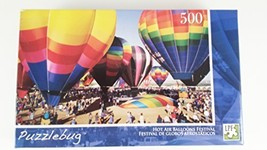 Puzzlebug 500 Piece Puzzle - Hot Air Balloons Festival - $12.69