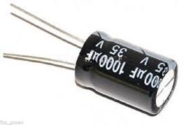 10       1000uf 35V Volt   Hi Tempature  Radial  Electrolytic Capacitor - $8.66