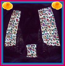 New S Small Rhonda Shear Rainbow Multicolor Lace Control Brief Panties Boyshort - $9.99