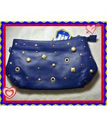 VICTORIA'S SECRET Fashion Dream Angels Heavenly Blue Stud Wristlet Cosme... - $14.99