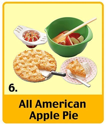 Re-Ment All American Apple Pie #6 Set Mini Sweets Retired ...