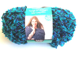 Loops & Threads Country Loom Yarn One Skein  blue tones - $8.76 CAD