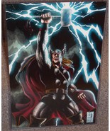 Marvel Thor Glossy Print 11 x 17 In Hard Plastic Sleeve - $24.99