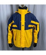 Helly Hansen Twin Sails Men's Small Hooded Sailing Jacket Raincoat Helly... - $87.79