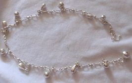 Conus balls silver anklet 1 thumb200