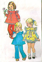 1973 SMOCK, PANTIES & PANTS Pattern 5935-s Toddler Size 1 - Complete - $9.99