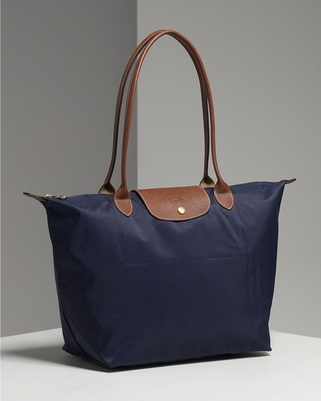 1a7b1700140b Navy BlueLONGCHAMP-Large- Le Pliage Nylon TOTE Shoulder Bag Large