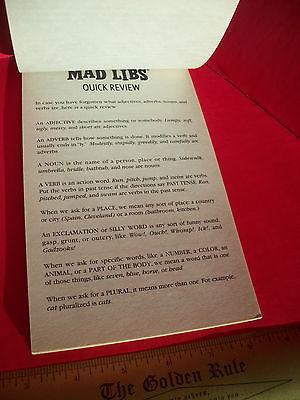 ScoobyDoo Mad Libs Book Scooby Doo Vampire and 50 similar items