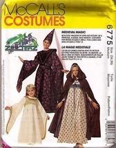 1993 COSTUME Pattern 6775-m - Size Medium (34, 36) - UNCUT - $12.59